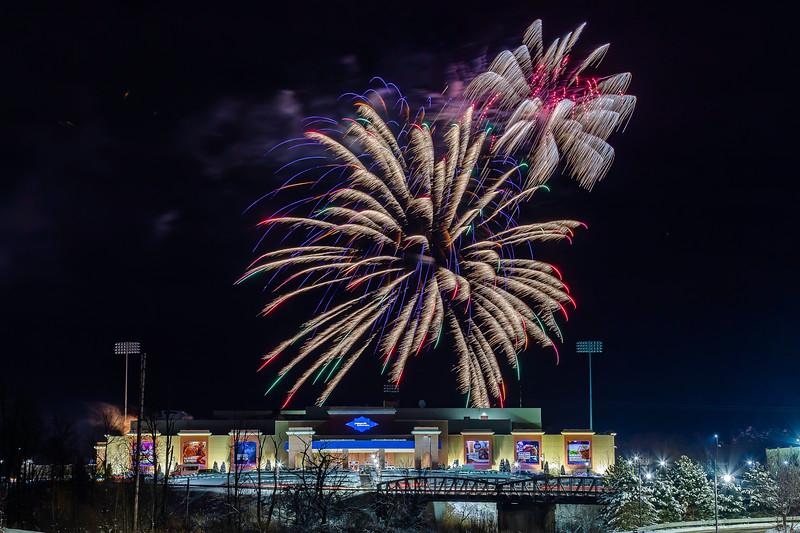 PI Downs Valentines Fireworks