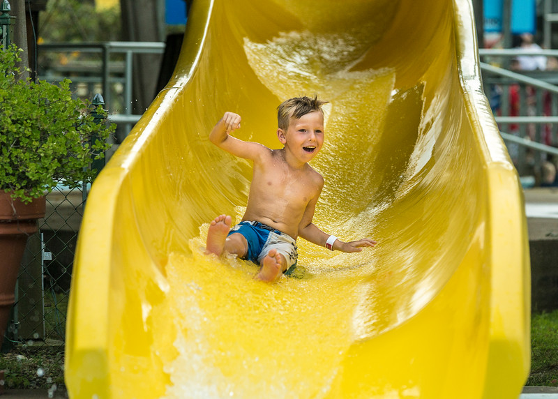 Boy Body Slide yellow