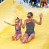 Mom & Daughter Yellow Slide