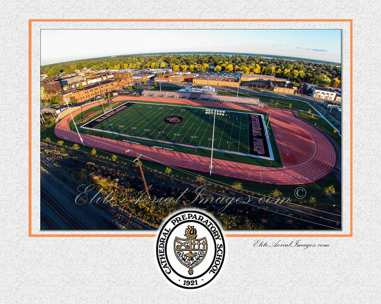 Dollinger Field, Ready to Frame, Pre Matted.