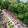 The Erie Zoo Train over Mill Creek, Erie, PA