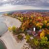 Presque Isle Lighthouse 2012 Fall Wide