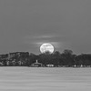 Snow Moon Wider B&W