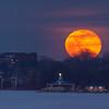 Erie Yacht Club Snow Moon