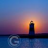 Presque Isle North Pier Lighthouse Sunrise 8/24/12 Portrait