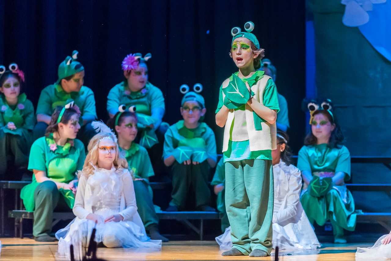 Robison Elementary 2018 Play 020 March 09, 2018