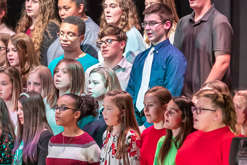 Fort LeBoeuf Christmas Concert 016 December 16, 2019