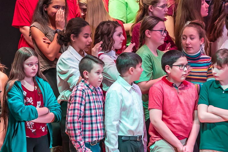 Fort LeBoeuf Christmas Concert 020 December 16, 2019