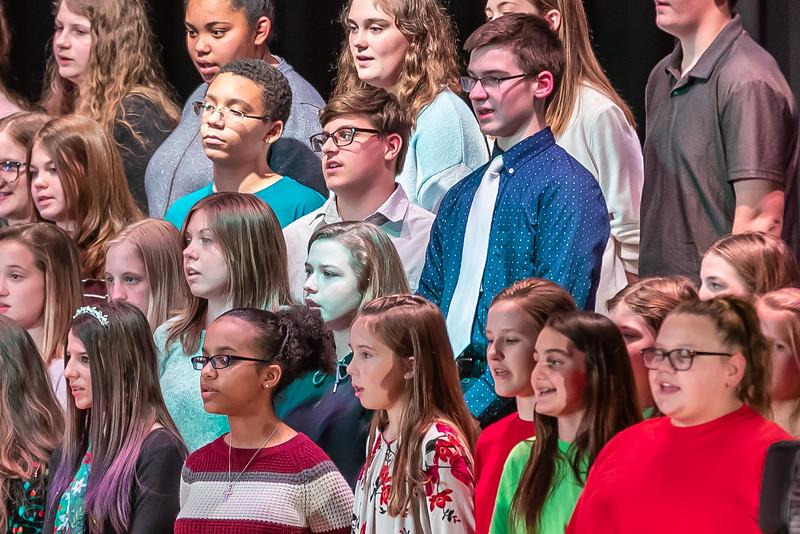 Fort LeBoeuf Christmas Concert 029 December 16, 2019