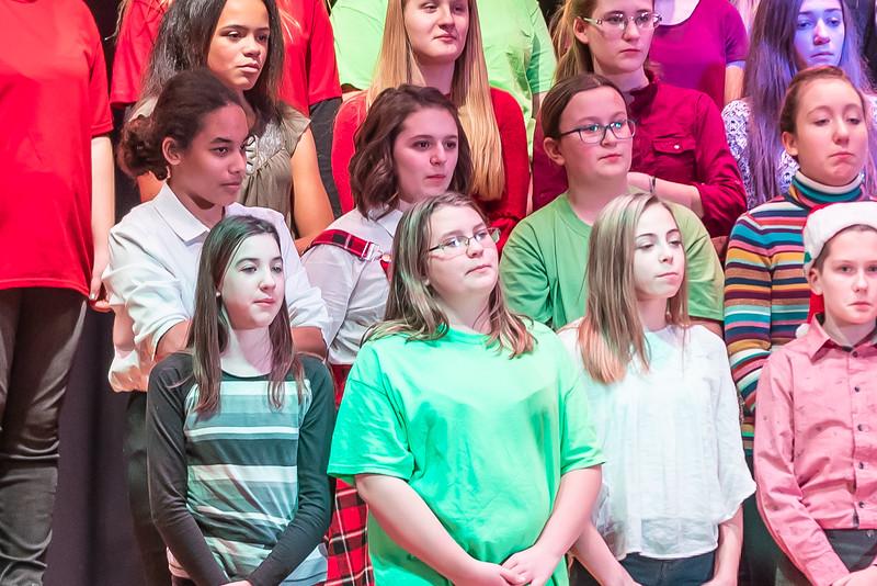 Fort LeBoeuf Christmas Concert 008 December 16, 2019