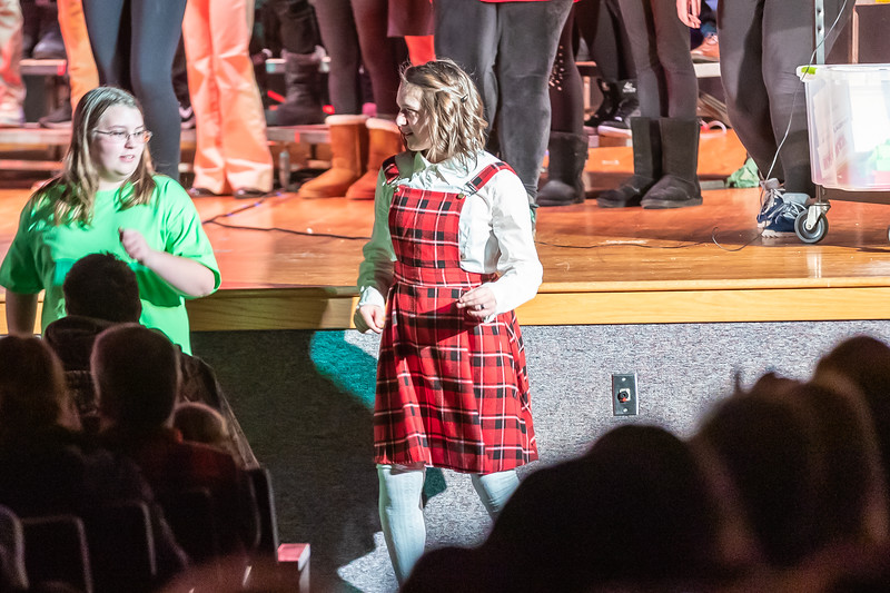Fort LeBoeuf Christmas Concert 043 December 16, 2019