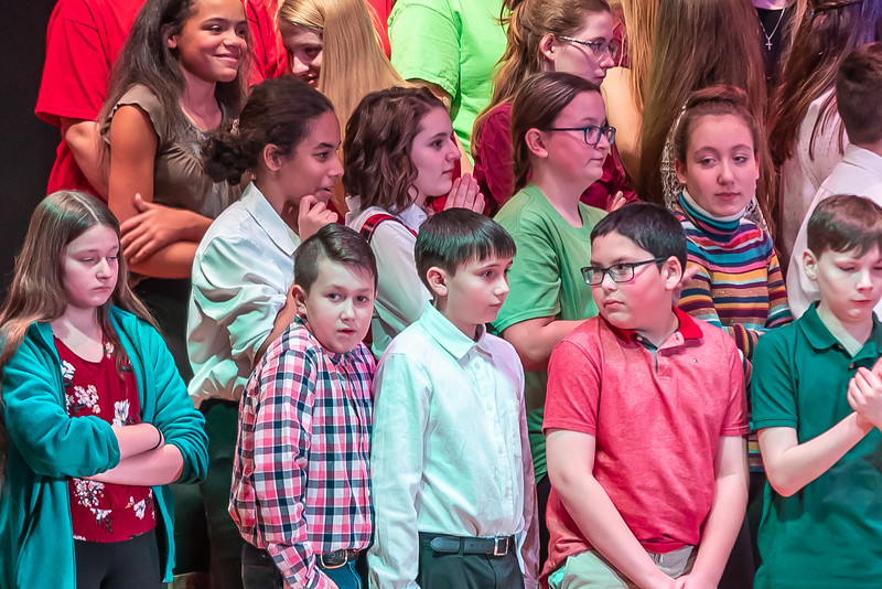Fort LeBoeuf Christmas Concert 019 December 16, 2019
