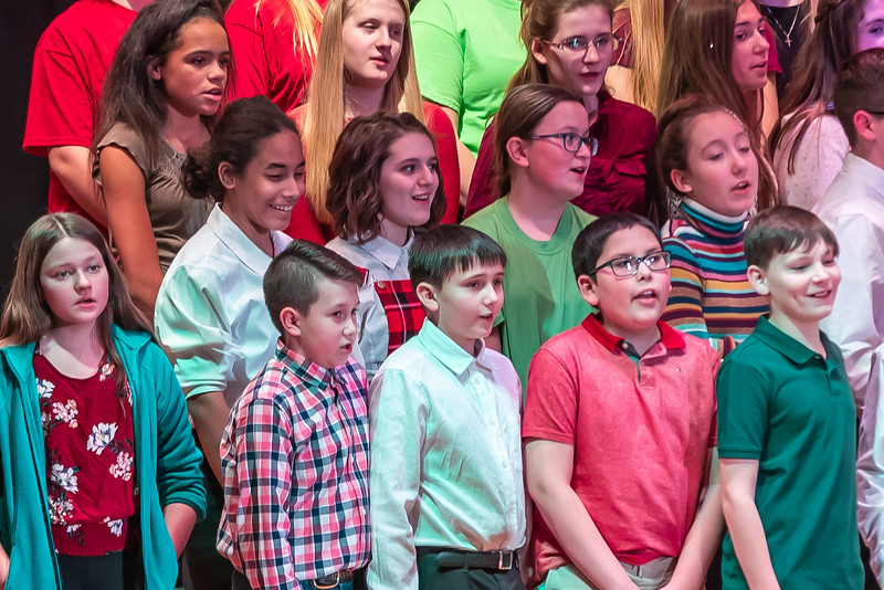 Fort LeBoeuf Christmas Concert 023 December 16, 2019