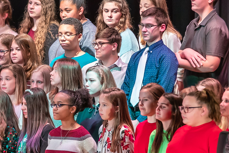 Fort LeBoeuf Christmas Concert 012 December 16, 2019