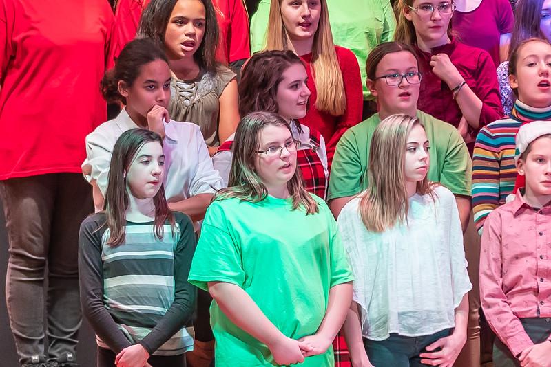 Fort LeBoeuf Christmas Concert 010 December 16, 2019
