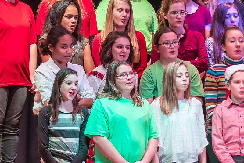 Fort LeBoeuf Christmas Concert 007 December 16, 2019