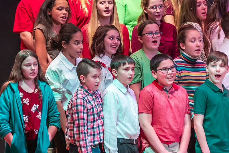 Fort LeBoeuf Christmas Concert 032 December 16, 2019