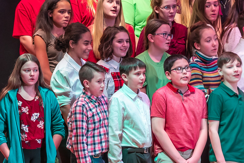 Fort LeBoeuf Christmas Concert 024 December 16, 2019