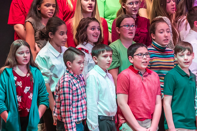 Fort LeBoeuf Christmas Concert 031 December 16, 2019