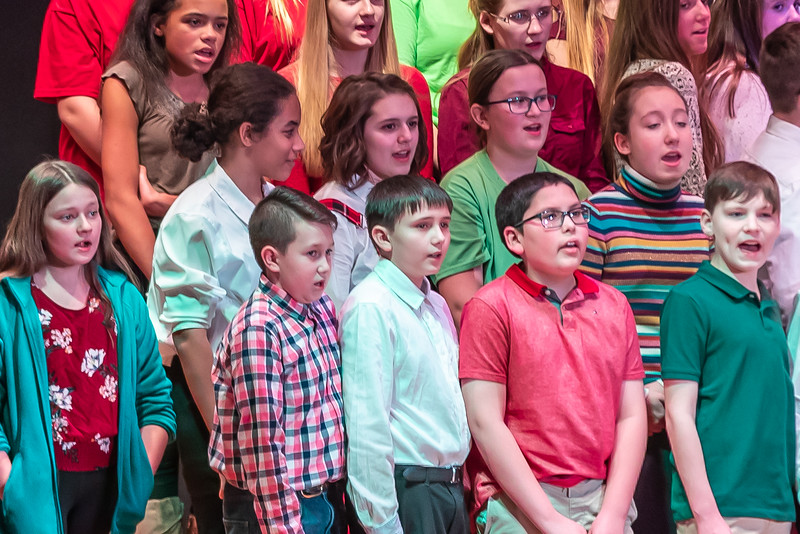 Fort LeBoeuf Christmas Concert 034 December 16, 2019