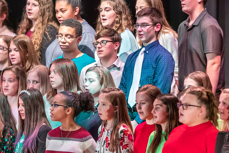 Fort LeBoeuf Christmas Concert 015 December 16, 2019