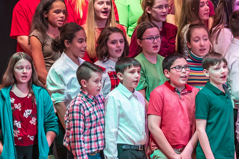 Fort LeBoeuf Christmas Concert 022 December 16, 2019