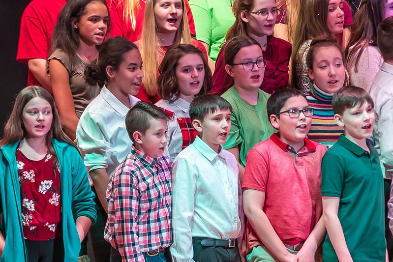 Fort LeBoeuf Christmas Concert 022 December 16, 2019