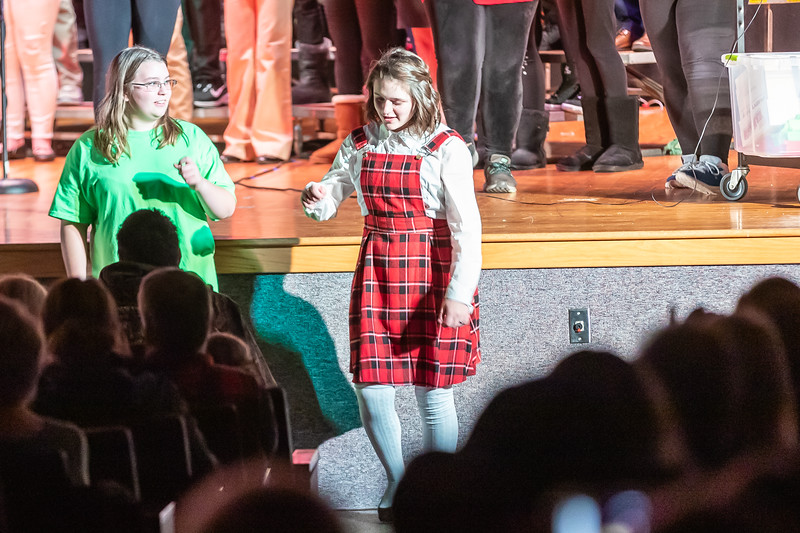 Fort LeBoeuf Christmas Concert 044 December 16, 2019