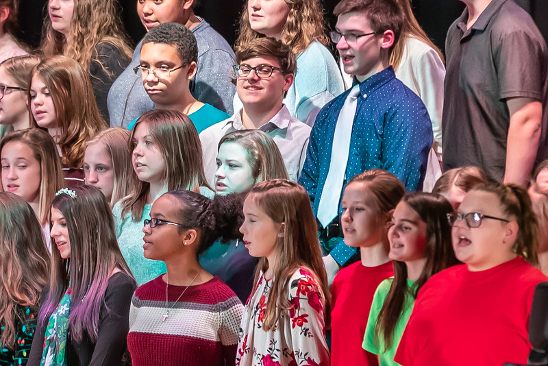 Fort LeBoeuf Christmas Concert 028 December 16, 2019