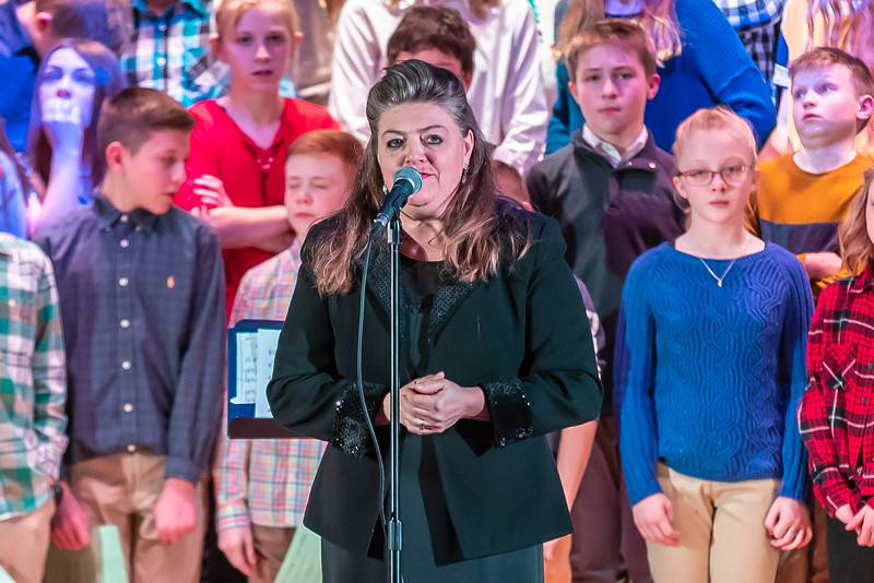 Fort LeBoeuf Christmas Concert 001 December 16, 2019