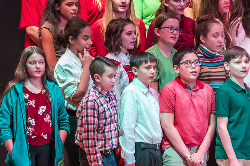 Fort LeBoeuf Christmas Concert 025 December 16, 2019