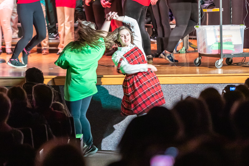Fort LeBoeuf Christmas Concert 050 December 16, 2019