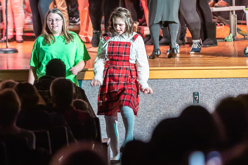 Fort LeBoeuf Christmas Concert 040 December 16, 2019