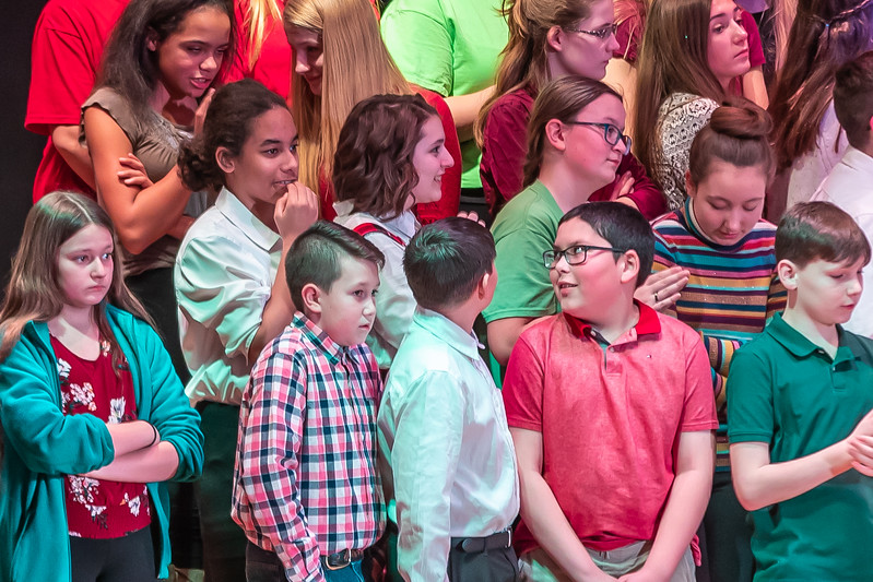 Fort LeBoeuf Christmas Concert 021 December 16, 2019