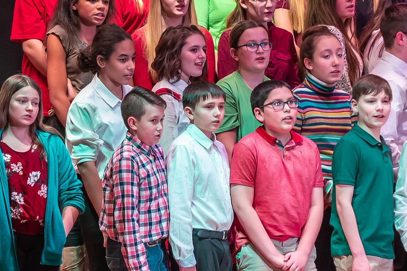 Fort LeBoeuf Christmas Concert 030 December 16, 2019