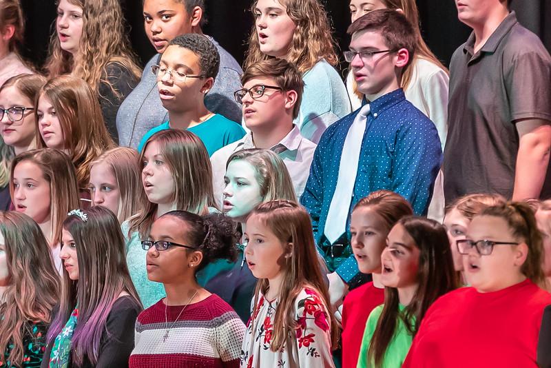 Fort LeBoeuf Christmas Concert 027 December 16, 2019