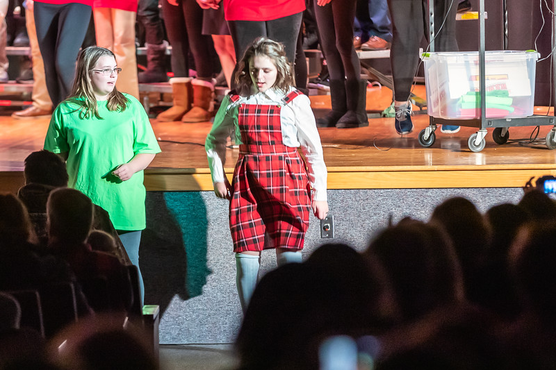 Fort LeBoeuf Christmas Concert 048 December 16, 2019