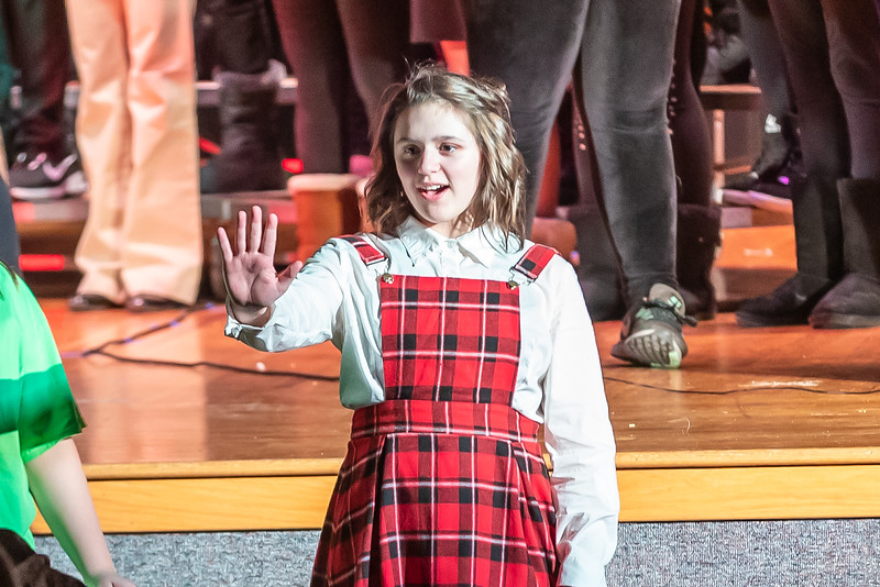 Fort LeBoeuf Christmas Concert 045 December 16, 2019