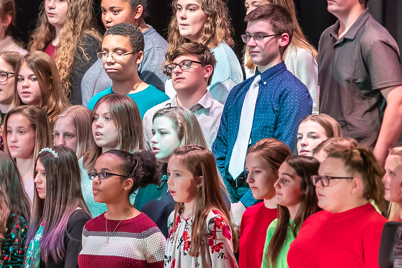 Fort LeBoeuf Christmas Concert 014 December 16, 2019