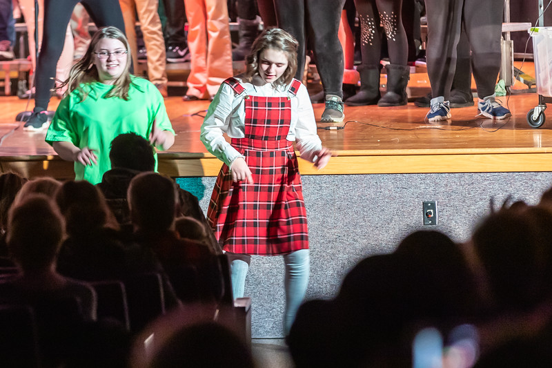 Fort LeBoeuf Christmas Concert 042 December 16, 2019