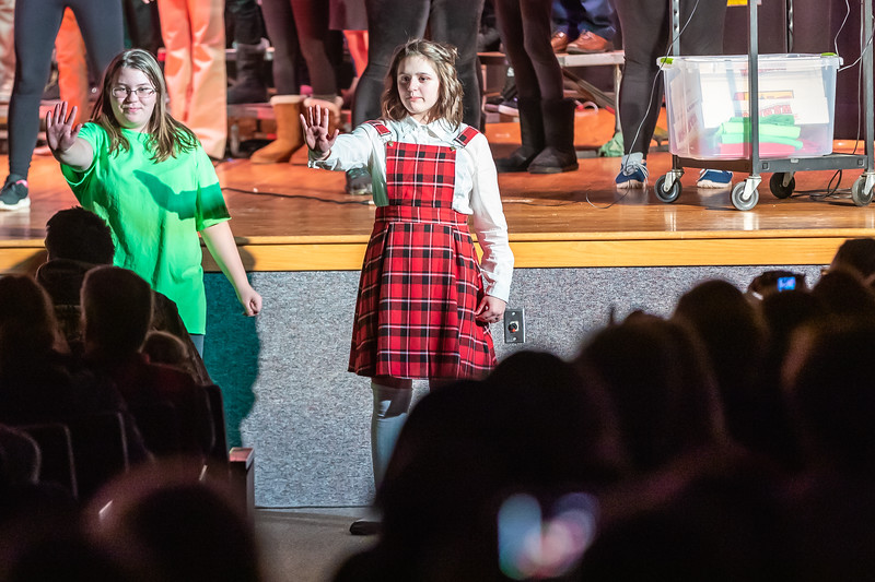 Fort LeBoeuf Christmas Concert 049 December 16, 2019
