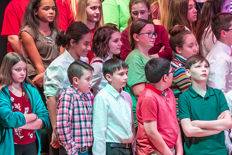 Fort LeBoeuf Christmas Concert 017 December 16, 2019