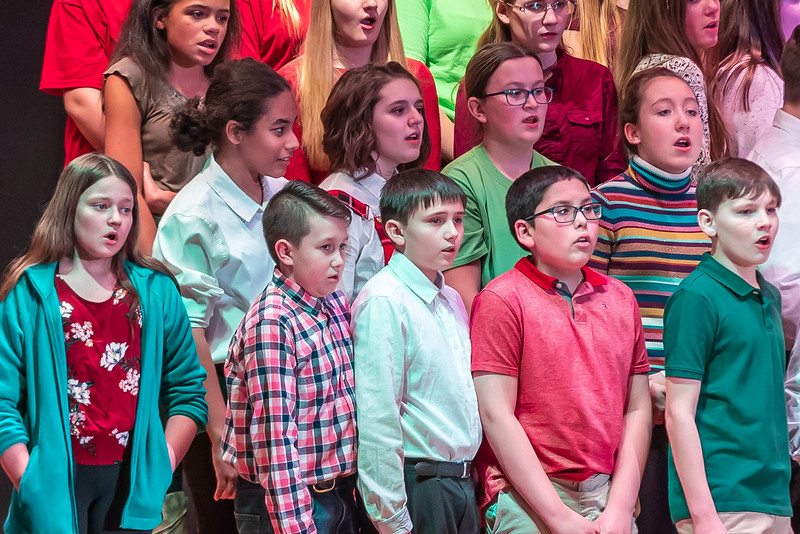 Fort LeBoeuf Christmas Concert 033 December 16, 2019