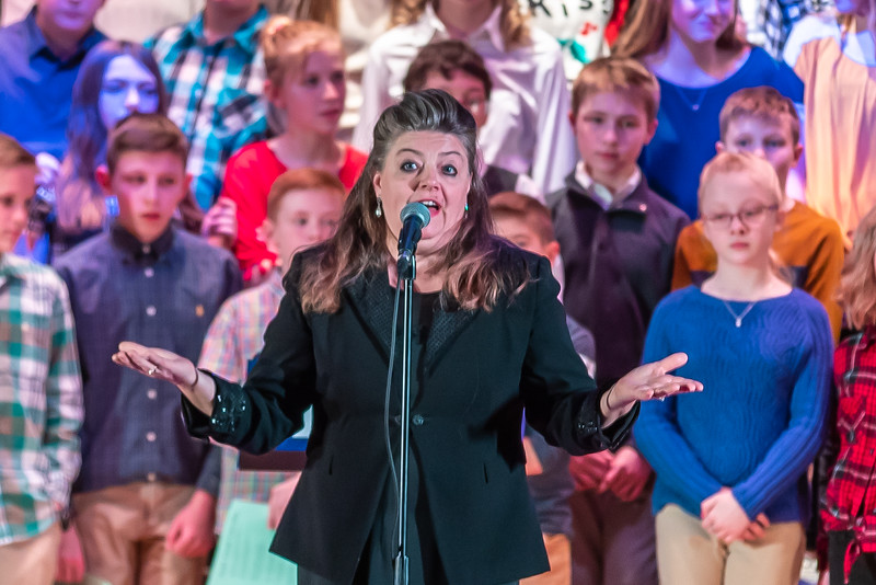 Fort LeBoeuf Christmas Concert 002 December 16, 2019