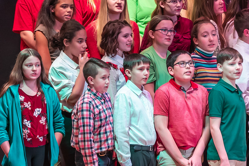 Fort LeBoeuf Christmas Concert 026 December 16, 2019