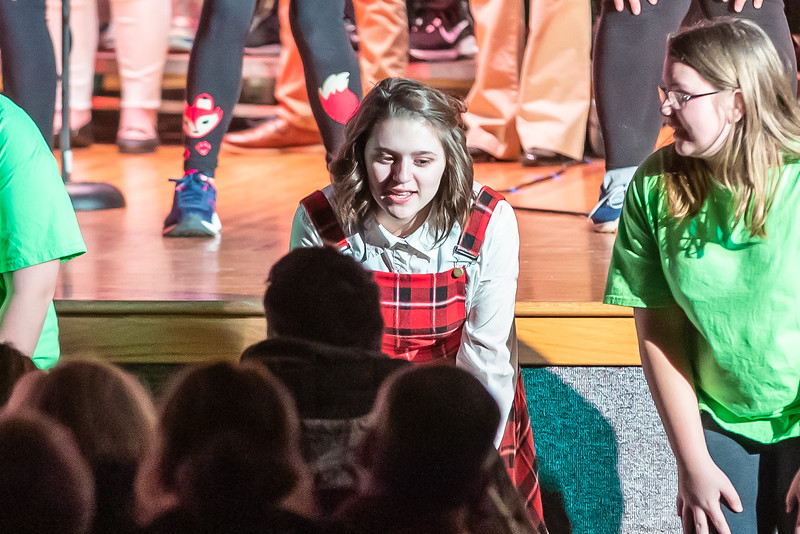 Fort LeBoeuf Christmas Concert 037 December 16, 2019