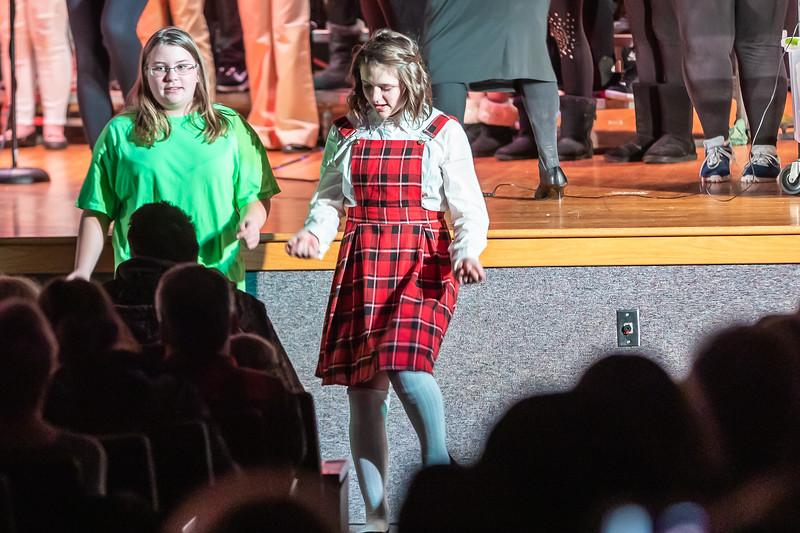 Fort LeBoeuf Christmas Concert 041 December 16, 2019