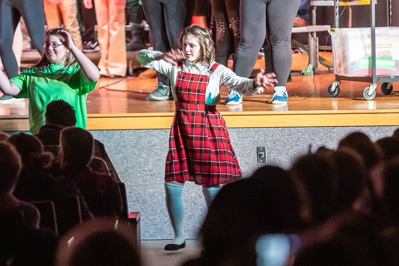 Fort LeBoeuf Christmas Concert 051 December 16, 2019