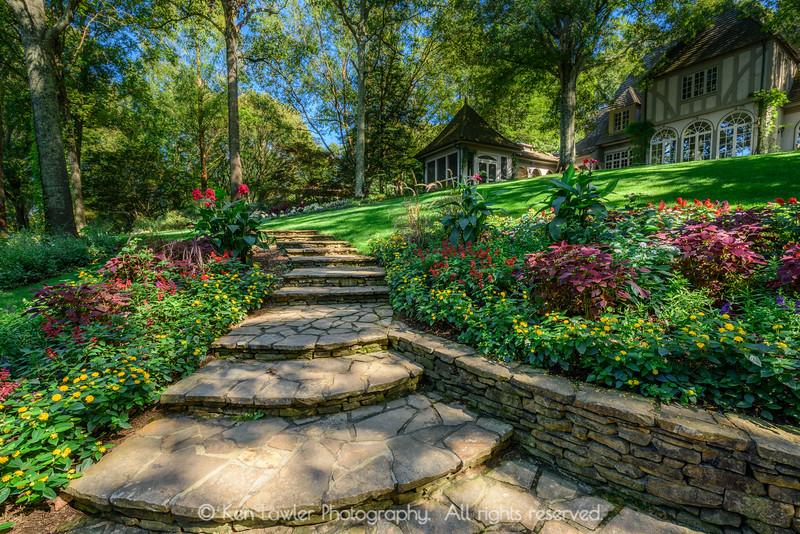 Gibbs Garden Stairway Summer II