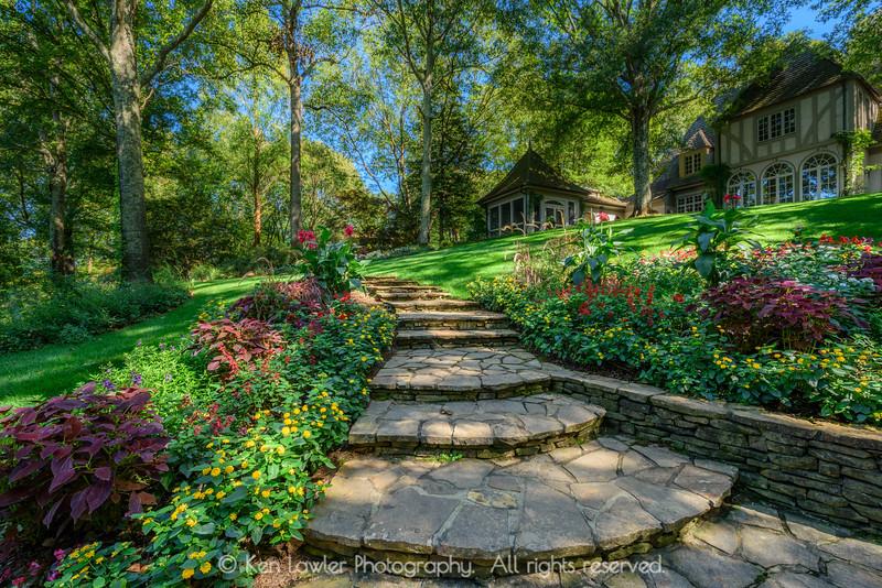 Gibbs Garden Stairway Summer I